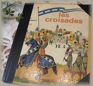 画像1: フランスヴィンテージ絵本・les croisades
